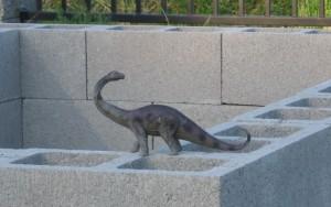 Nessie On Brick