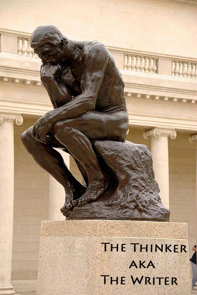 The Thinker aka The Writer